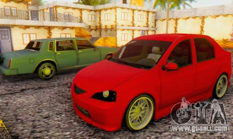 Dacia Logan B-61 for GTA San Andreas