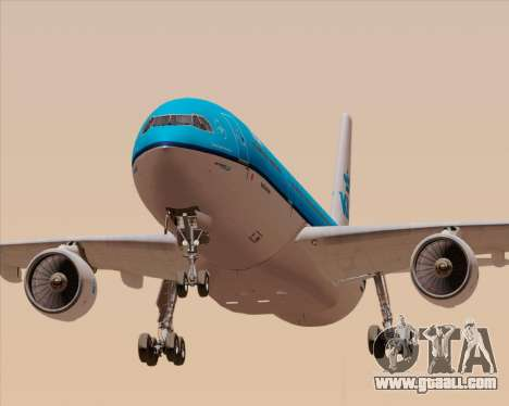 Airbus A330-300 KLM Royal Dutch Airlines for GTA San Andreas engine