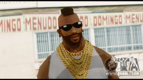 MR T Skin v4 for GTA San Andreas third screenshot