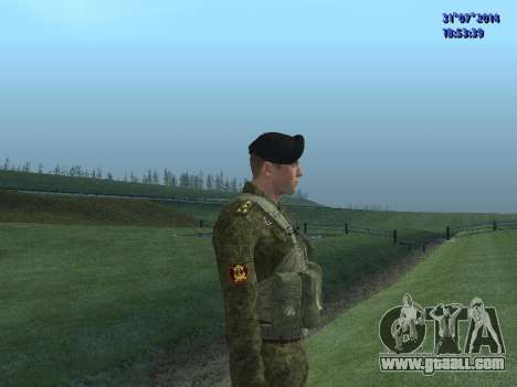 The Officer Of The Marine Corps for GTA San Andreas forth screenshot