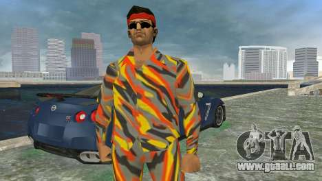 Camo Skin 15 for GTA Vice City third screenshot