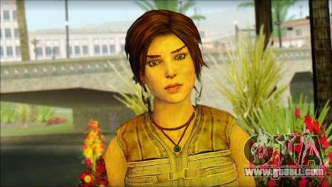Tomb Raider Skin 15 2013 for GTA San Andreas third screenshot
