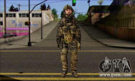 Task Force 141 (CoD: MW 2) Skin 8 for GTA San Andreas