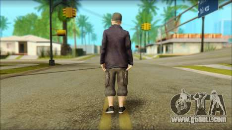 Fred Durst from Limp Bizkit v1 for GTA San Andreas second screenshot