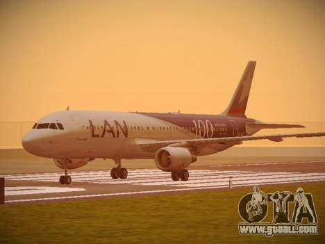 Airbus A320-214 LAN Airlines 100th Plane for GTA San Andreas