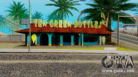 New bar in Ganton for GTA San Andreas sixth screenshot
