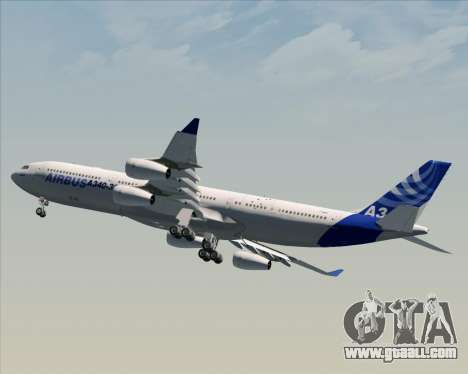 Airbus A340-311 House Colors for GTA San Andreas