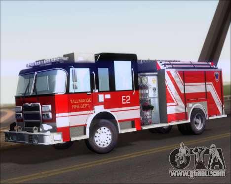 Pierce Arrow XT TFD Engine 2 for GTA San Andreas left view