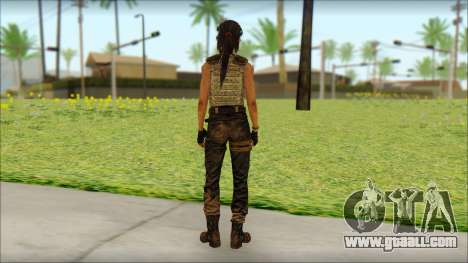 Tomb Raider Skin 15 2013 for GTA San Andreas second screenshot