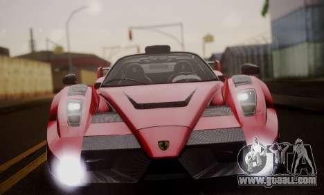 Ferrari Gemballa MIG-U1 for GTA San Andreas upper view