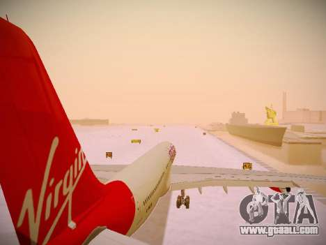 Airbus A340-300 Virgin Atlantic for GTA San Andreas
