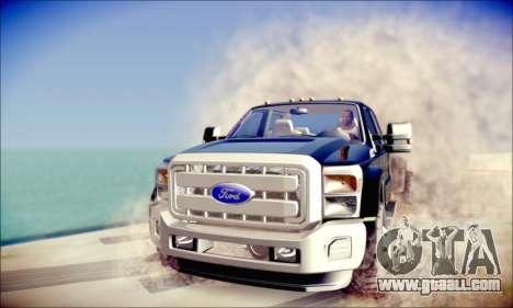 Ford F450 Super Duty 2013 HD for GTA San Andreas