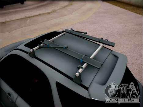 Subaru Impreza Wagon 2002 for GTA San Andreas back view