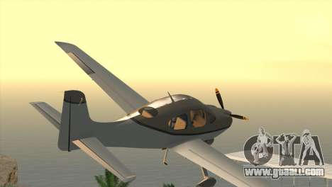 Cirrus SR-22 for GTA San Andreas left view
