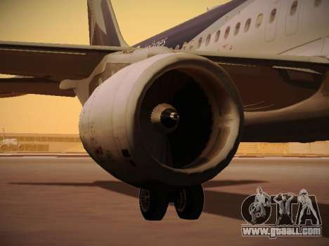 Airbus A320-214 LAN Airlines 100th Plane for GTA San Andreas wheels