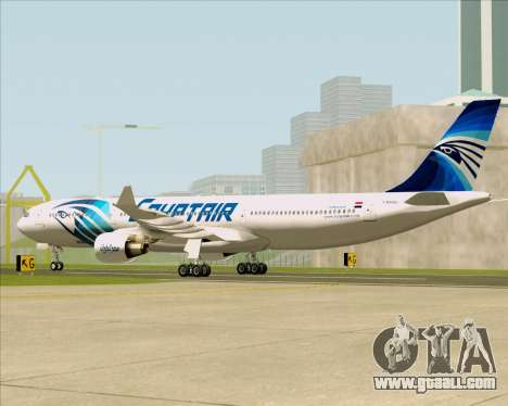 Airbus A330-300 EgyptAir for GTA San Andreas right view