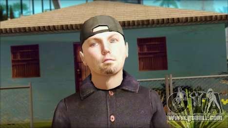 Fred Durst from Limp Bizkit v1 for GTA San Andreas third screenshot