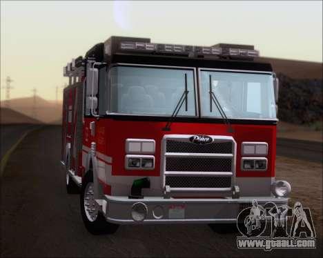 Pierce Arrow XT TFD Engine 2 for GTA San Andreas back view