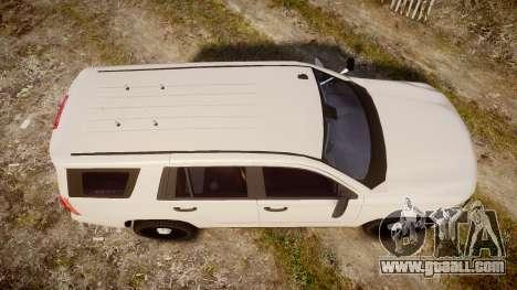 Chevrolet Tahoe 2015 PPV Slicktop [ELS] for GTA 4