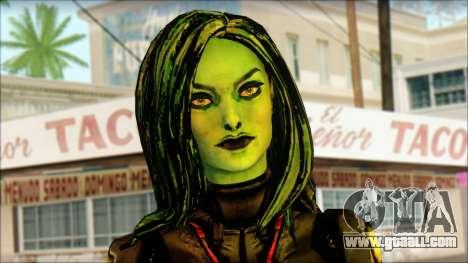 Guardians of the Galaxy Gamora v1 for GTA San Andreas third screenshot