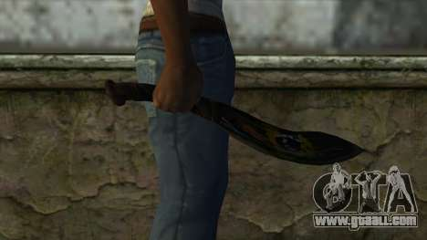 Fang Blade from PointBlank v2 for GTA San Andreas third screenshot