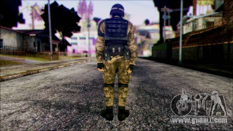Soldier from Prototype 2 for GTA San Andreas second screenshot