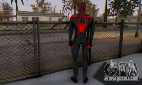 Skin The Amazing Spider Man 2 - New Ultimate for GTA San Andreas third screenshot