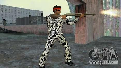 Camo Skin 05 for GTA Vice City third screenshot