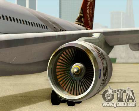Airbus A330-200 Fiji Airways for GTA San Andreas side view