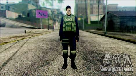 SWAT from Beta Version for GTA San Andreas