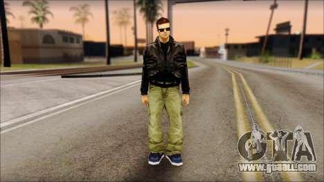 Shades Claude v2 for GTA San Andreas