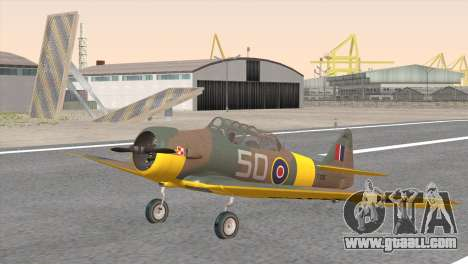 North American T-6 TEXAN FX215 for GTA San Andreas