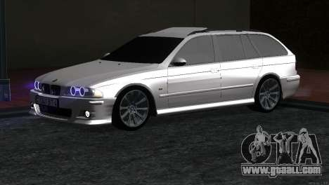 BMW 530d for GTA San Andreas