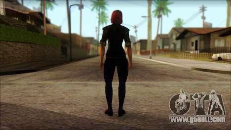 Mass Effect Anna Skin v6 for GTA San Andreas second screenshot