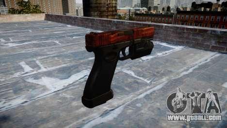 Pistol Glock 20 bacon for GTA 4 second screenshot