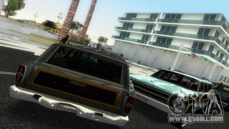 Ford Country Squire for GTA Vice City left view
