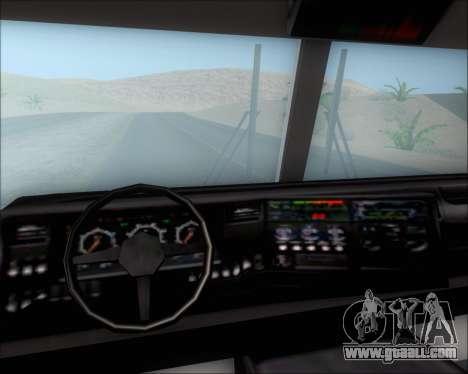 Pierce Arrow XT TFD Engine 2 for GTA San Andreas upper view