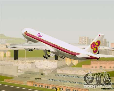 Airbus A330-300 Thai Airways International for GTA San Andreas