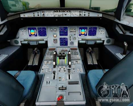 Airbus A321-200 British Airways for GTA San Andreas interior