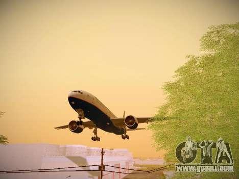 Boeing 777-2Q8ER Orenair Airlines for GTA San Andreas