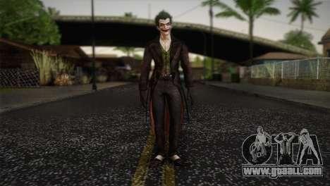 Joker From Batman: Arkham Origins for GTA San Andreas