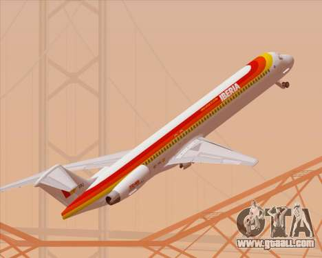 McDonnell Douglas MD-82 Iberia for GTA San Andreas
