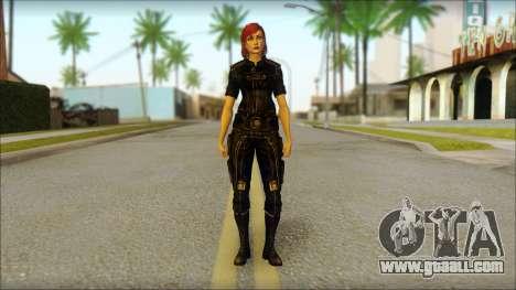 Mass Effect Anna Skin v7 for GTA San Andreas
