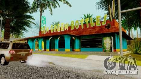 New bar in Ganton for GTA San Andreas