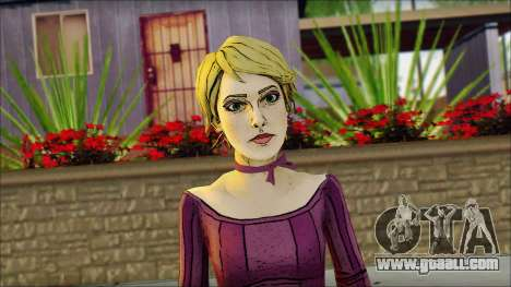 Vivian from Wolf Among Us for GTA San Andreas third screenshot