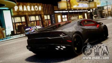 Lamborghini Huracan LP610-4 SuperTrofeo for GTA 4 left view