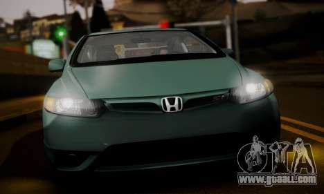 Honda Civic SI 2006 for GTA San Andreas back left view