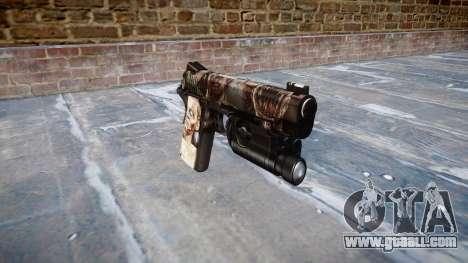 Gun Kimber 1911 Zombies for GTA 4