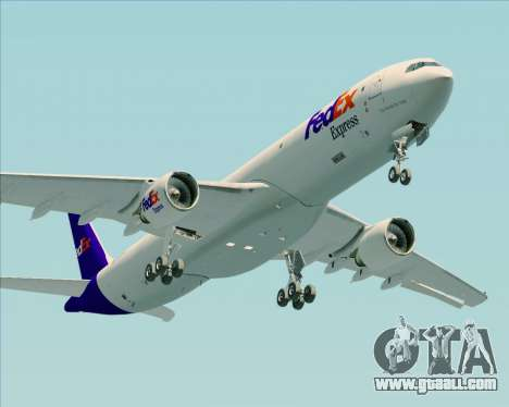Airbus A330-300P2F Federal Express for GTA San Andreas inner view