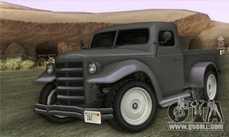 Bravado Duneloader Classic 1.0 (HQLM) for GTA San Andreas